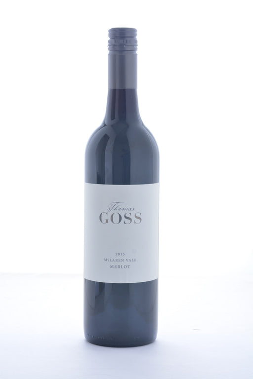 Thomas Goss Merlot 2015 - 750 ML - Wine on Sale