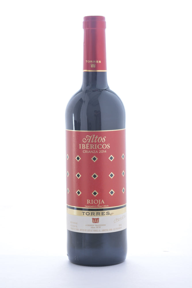 Torres Altos Ibericos Crianza Tempranillo 2014 - 750 ML - Wine on Sale