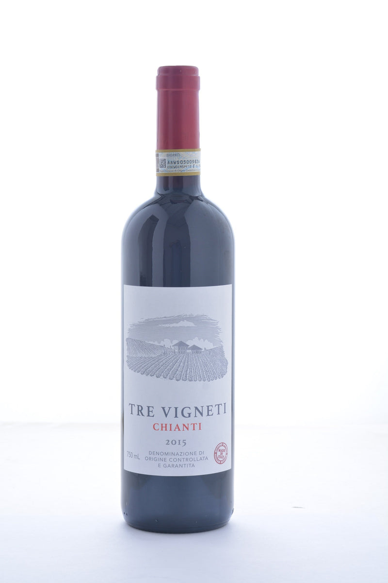 Tre Vigneti Chianti 2015 - 750 ML - Wine on Sale