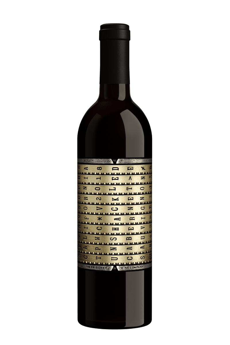 Unshackled by The Prisoner Cabernet Sauvignon 2018 - 750 ML