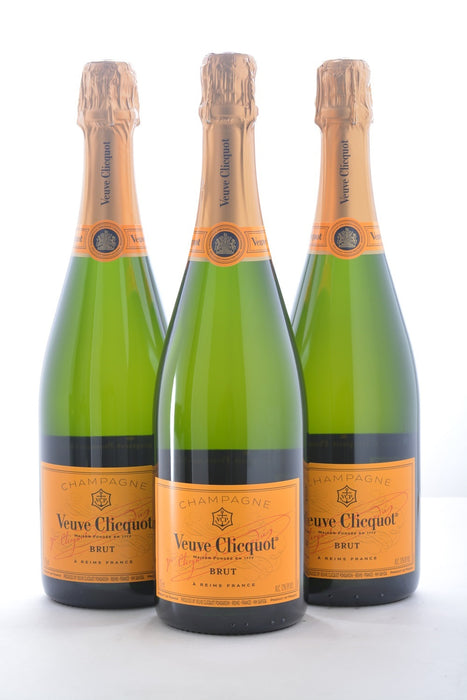 Groupon Veuve Clicquot Yellow Label Brut - 3 Pack - Wine on Sale
