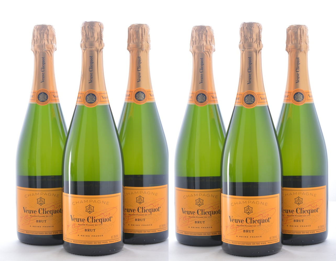 Groupon Veuve Clicquot Yellow Label Brut - 6 Pack - Wine on Sale