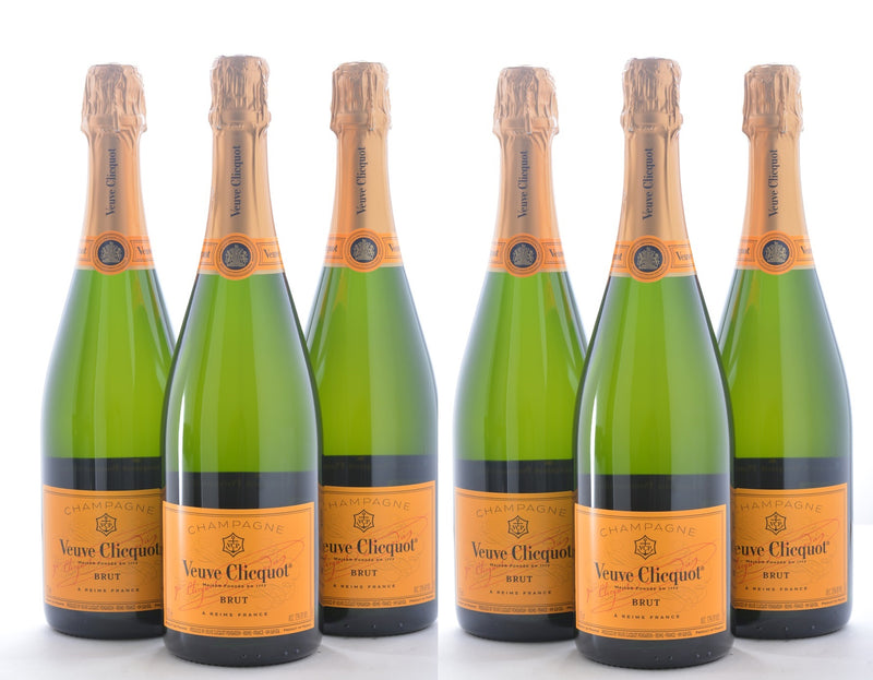 Groupon Veuve Clicquot Yellow Label Brut - 12 Pack - Wine on Sale
