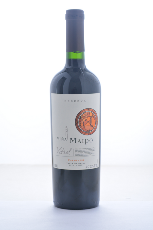 Vina Maipo Vitral Reserva Carmenere 2012 - 750 ML - Wine on Sale