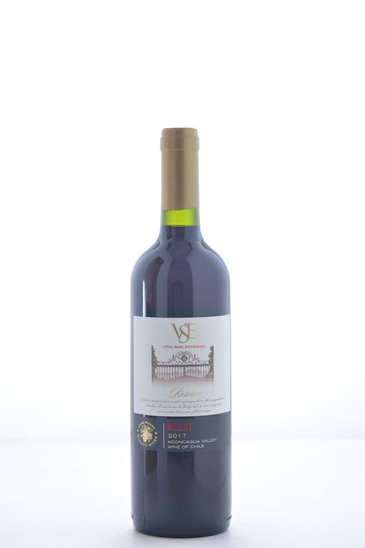 Vina San Esteban Reserve Merlot 2017 - 750 ML - Wine on Sale
