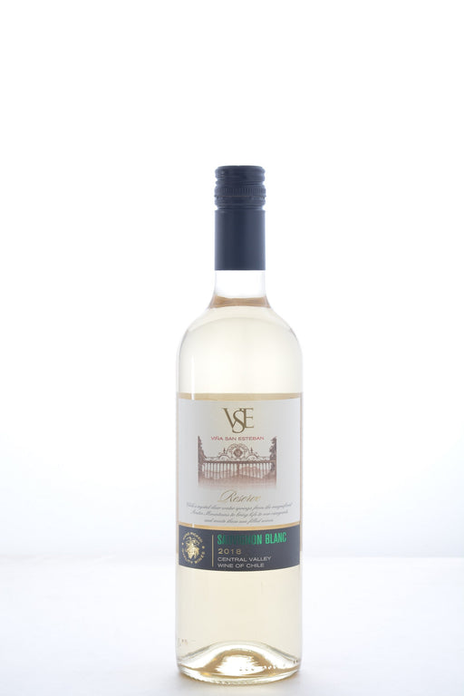 Vina San Esteban Reserve Sauvignon Blanc 2018 - 750 ML - Wine on Sale