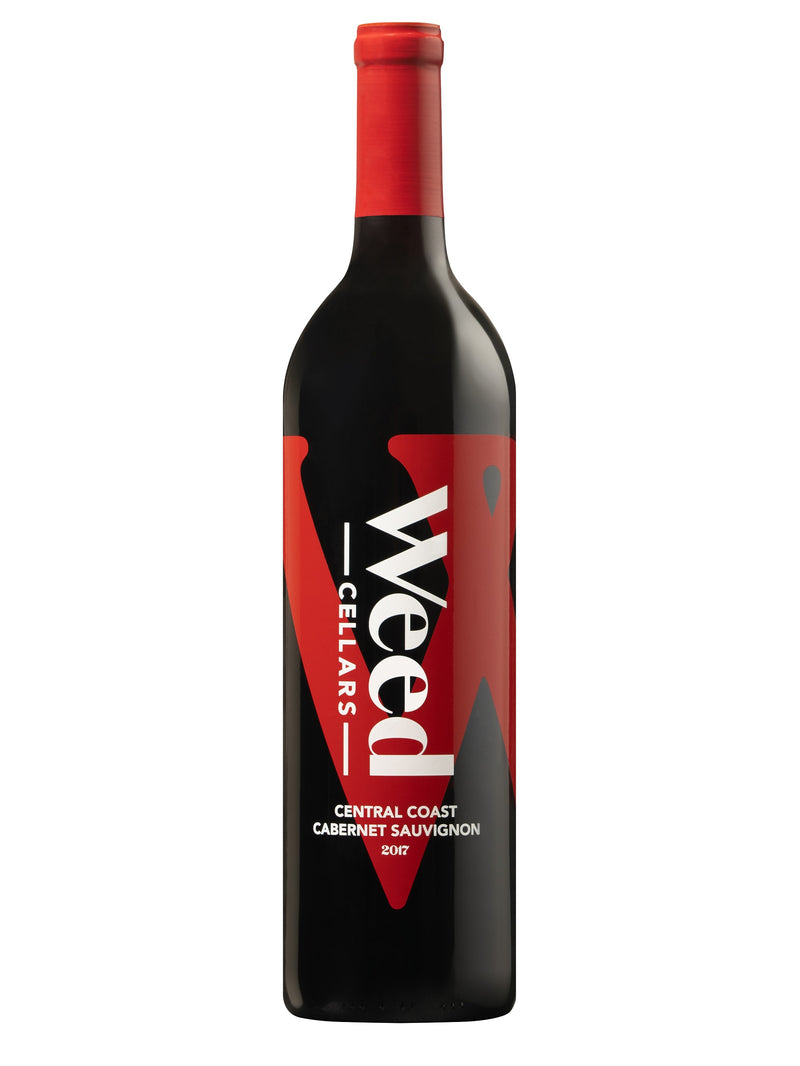 Weed Cellars Central Coast Cabernet Sauvignon 2017 - 750 ML - Wine on Sale