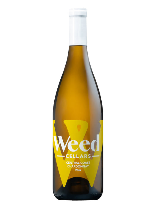 Weed Cellars Central Coast Chardonnay 2018 - 750 ML - Wine on Sale