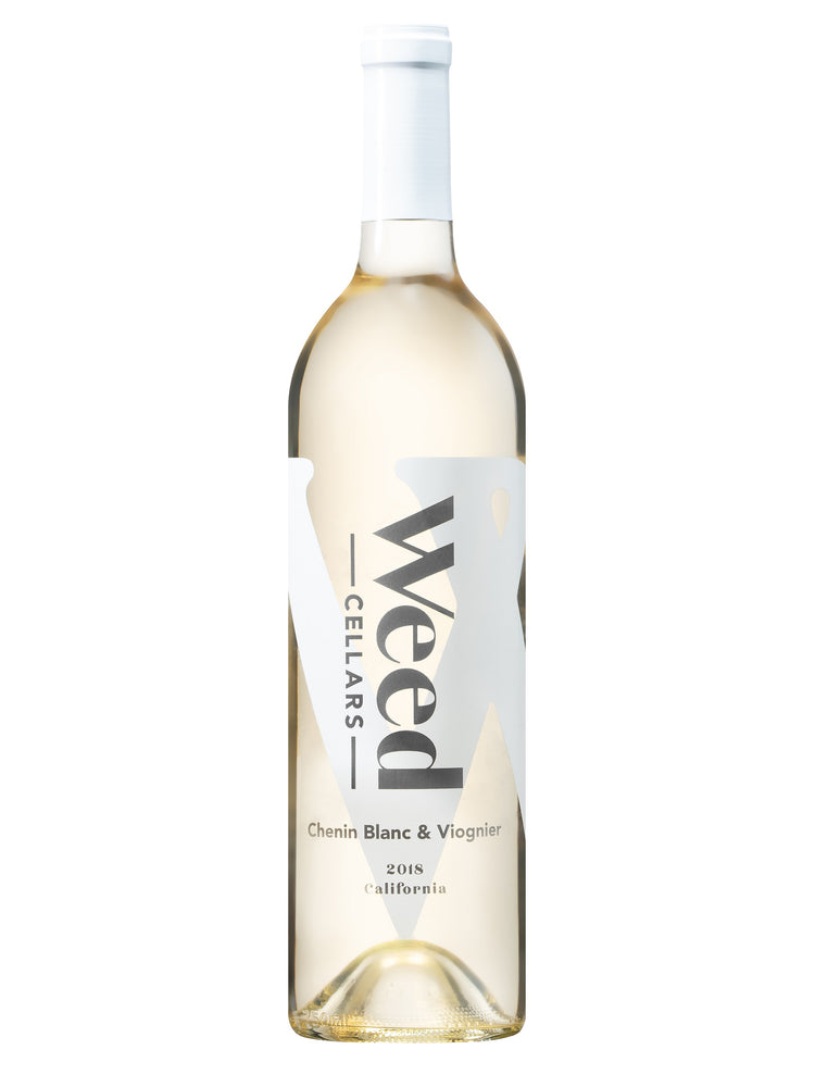 Weed Cellars Chenin Blanc & Viognier 2018 - 750 ML - Wine on Sale