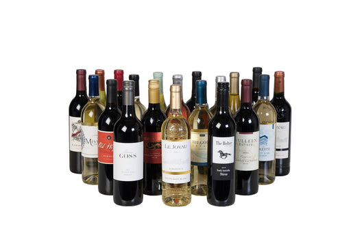 Ultimate Global Wine Sampler Pack - 20 Bottle Case of Wine - 750ml - Wine on Sale