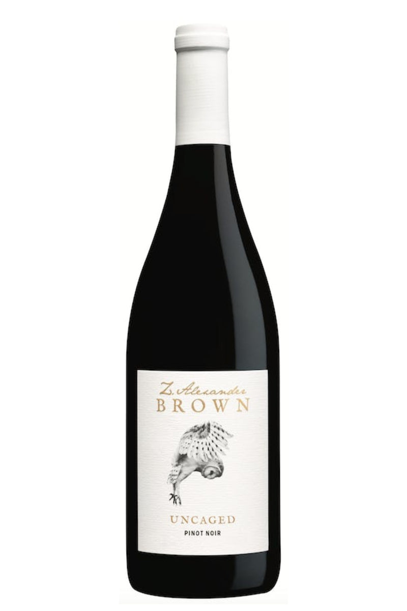 Z. Alexander Brown Uncaged Pinot Noir 2019 - 750 ML - Wine on Sale
