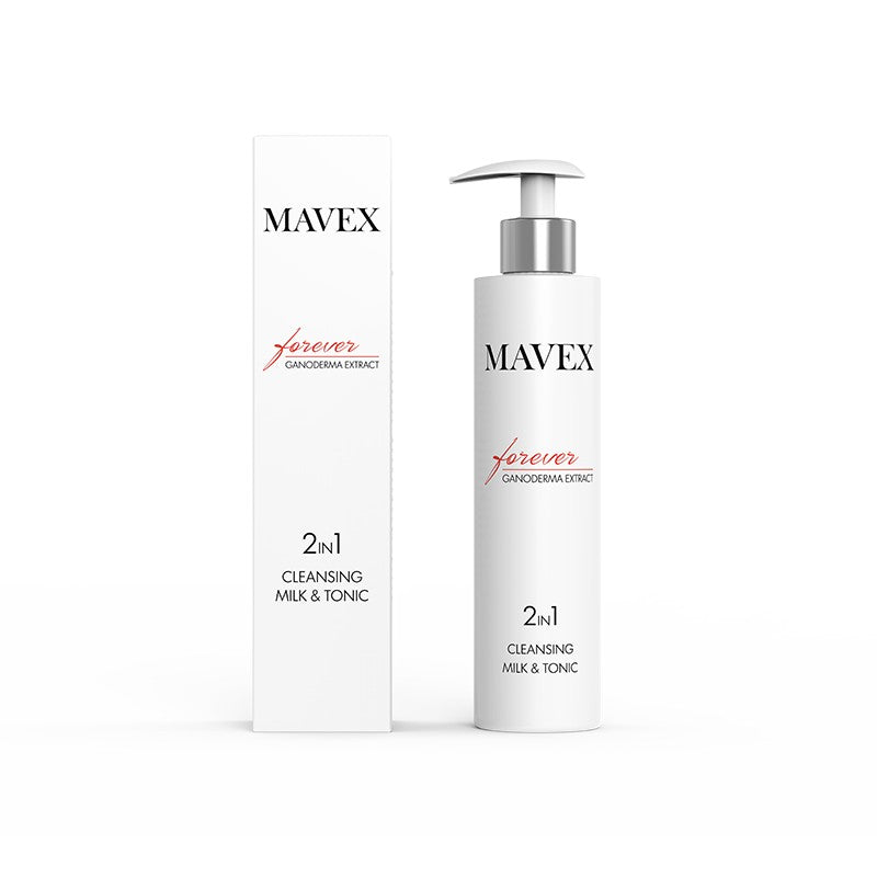 MAVEX 2 IN 1 CLEANSING MILK  TONIC DETERSIONE PELLE MATURA