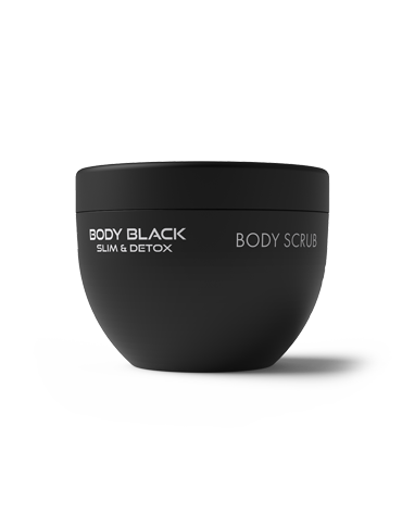 MAVEX - BODY BLACK SLIM & DETOX - BODY SCRUB