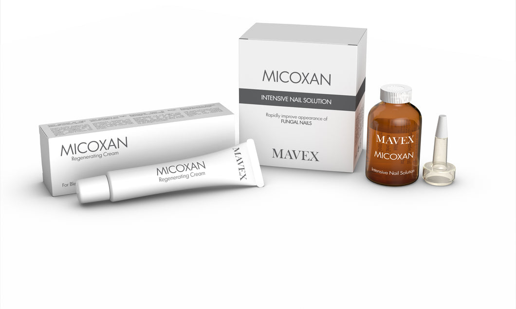 MICOXAN - INTENSIVE NAIL SOLUTION & REGENERATING CREAM