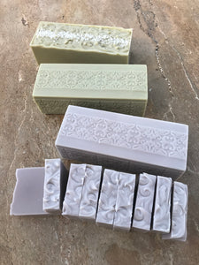 Natural handmade soap lavender, Peppermint and tea tree