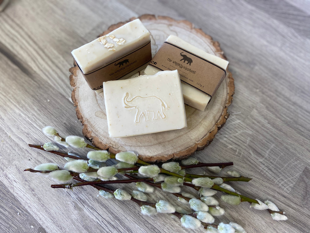 Natural Oats (unscented) Soap