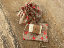 Christmas Star Burlap bag and Mini bar