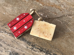 Christmas Jolly Hanging Sleigh and Soap