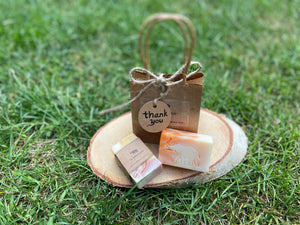 Thank you Mini soap bar Gift Bag