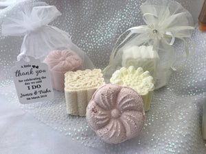 Shower Steamer wedding favours