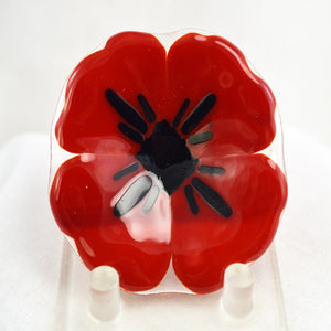 Small Poppies Dish