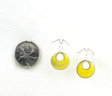 Load image into Gallery viewer, The Enamel Earring Collection Mellow Yellow