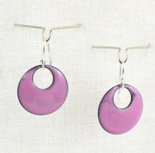 Load image into Gallery viewer, The Enamel Earring Collection Sunset Pink