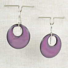 Load image into Gallery viewer, The Enamel Earring Collection Purple