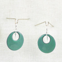 Load image into Gallery viewer, The Enamel Earring Collection Sea Green