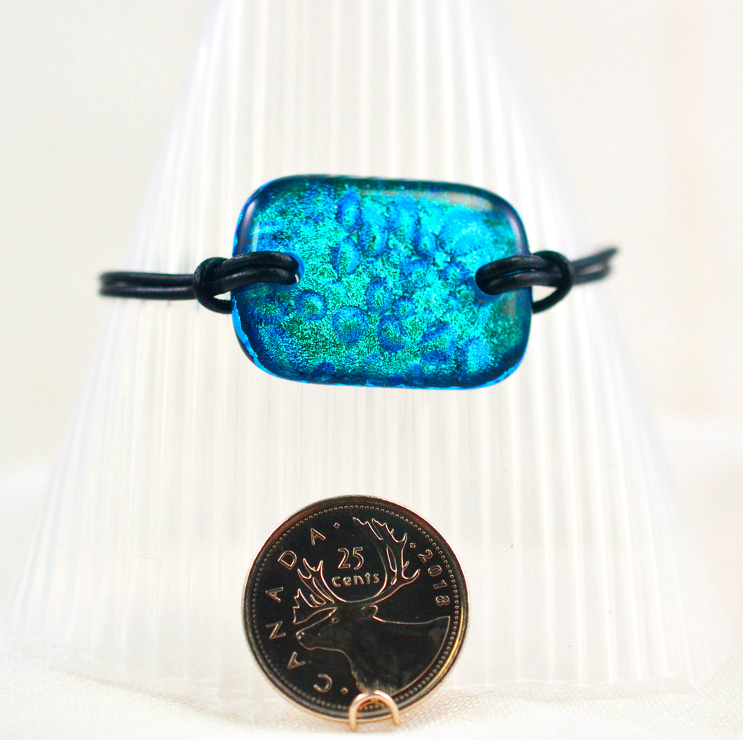 The Dichroic Bracelet Collection Blues #1