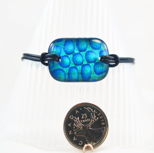 The Dichroic Bracelet Collection Blues #3