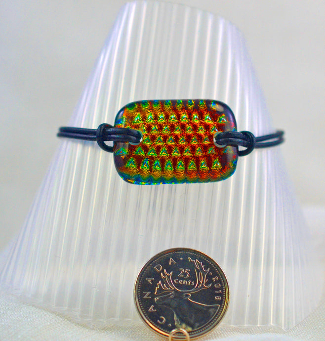 The Dichroic Bracelet Collection Reds #2