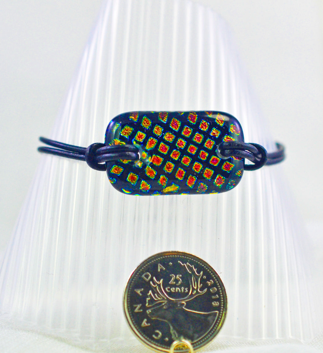 The Dichroic Bracelet Collection Squares #1