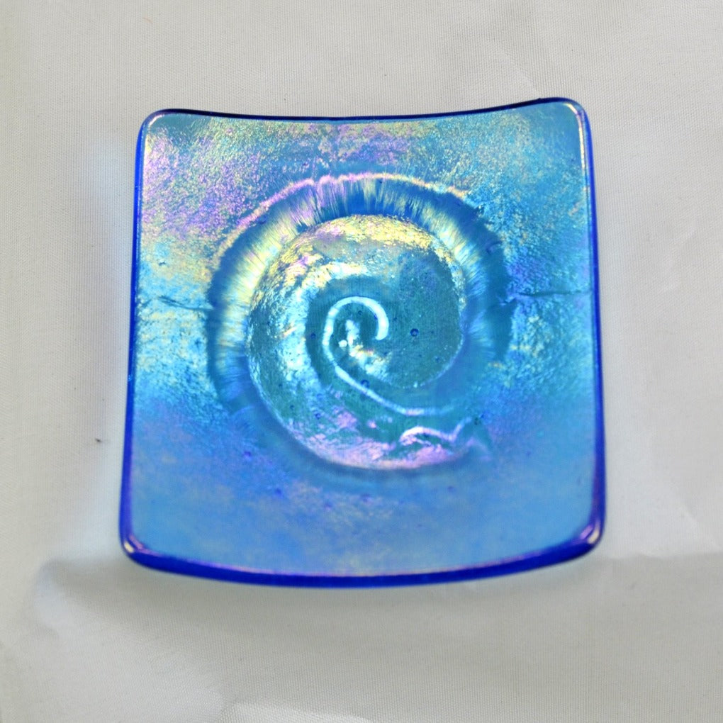 Mini Dish Nautilius Light Blue