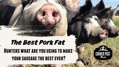 Where do get pork fat for sausage?