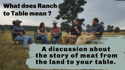 What Does Ranch to Table Mean?