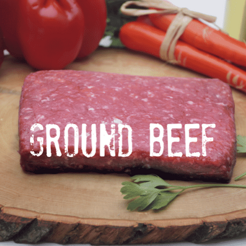 Ground Beef Meat Box