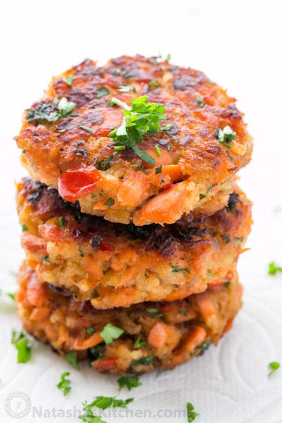 Fish - Wild Alaskan Salmon Burger