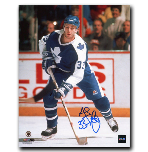 Al Iafrate Toronto Maple Leafs Autographed 8x10 Photo Autographed Hockey 8x10 Photos CoJo Sport Collectables