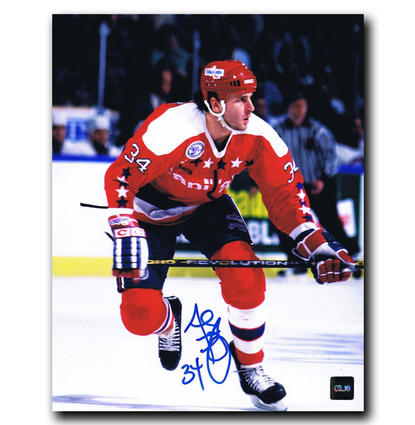 Al Iafrate Washington Capitals Autographed 8x10 Photo - CoJo Sport Collectables Inc.