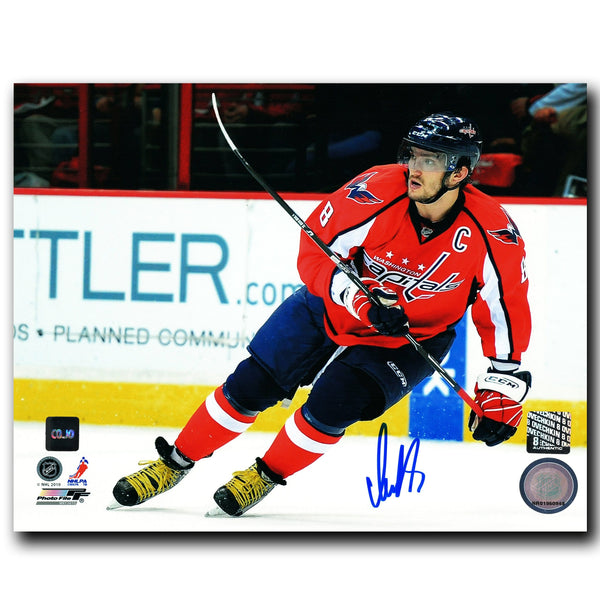 Alex Ovechkin Washington Capitals Autographed Action 8x10 Photo - CoJo Sport Collectables Inc.