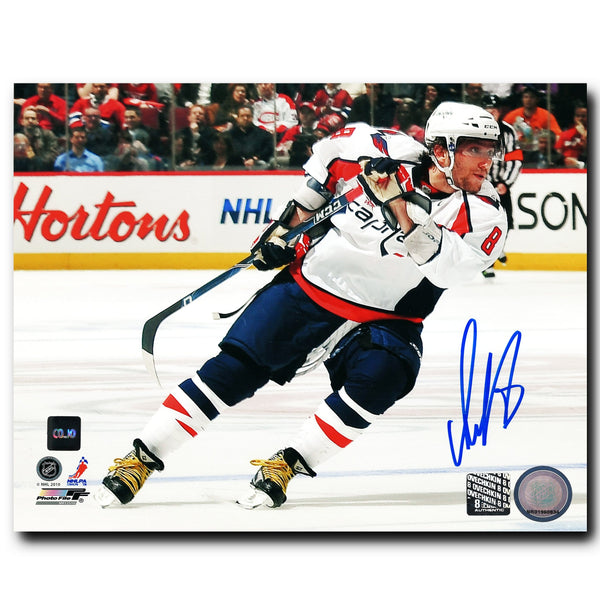 Alex Ovechkin Washington Capitals Autographed Turning 8x10 Photo
