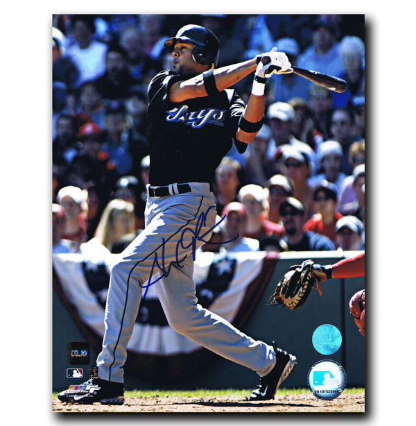 Alex Rios Toronto Blue Jays Autographed 8x10 Photo - CoJo Sport Collectables Inc.