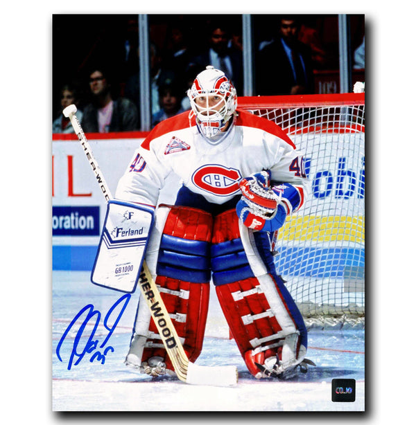 Andre Racicot Montreal Canadiens Autographed 8x10 Photo