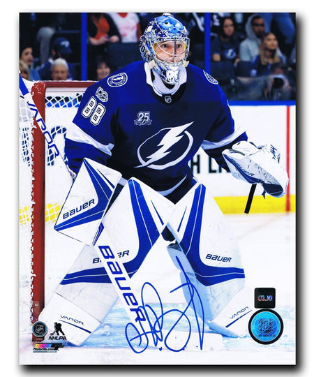 Andrei Vasilevskiy Tampa Bay Lightning Autographed 8x10 Photo Autographed Hockey 8x10 Photos CoJo Sport Collectables