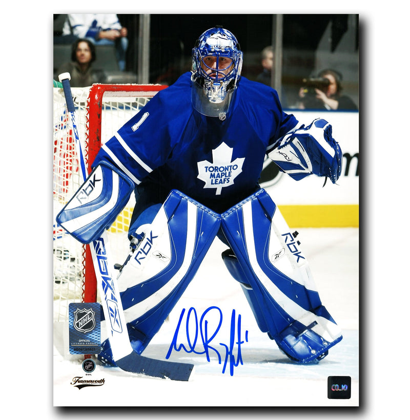 Andrew Raycroft Toronto Maple Leafs Autographed 8x10 Photo CoJo Sport Collectables Inc.