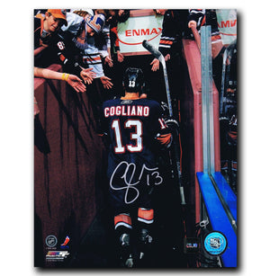 Andrew Cogliano Edmonton OIlers Autographed Tunnel 8x10 Photo Autographed Hockey 8x10 Photos CoJo Sport Collectables