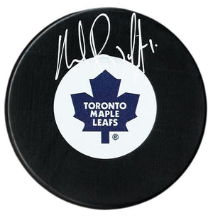 Andrew Raycroft Autographed Toronto Maple Leafs Puck - CoJo Sport Collectables Inc.