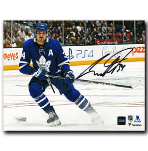 Auston Matthews Toronto Maple Leafs Autographed Action 8x10 Photo - CoJo Sport Collectables Inc.