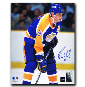 Bernie Nicholls Los Angeles Kings Autographed 8x10 Photo - CoJo Sport Collectables Inc.